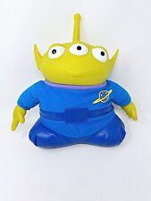 "Vintage Toy Story Talking Alien Plush 12"" Figure Glows 1995 Disney Pixar buzz"
