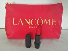 Lancôme Gift Set- Red pouch makeup bag + Lipstick (Red Stiletto)