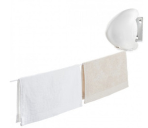 Leifheit Retractable Clothes Washing Line Hanging Laundry Wall Dryer Rollfix 80