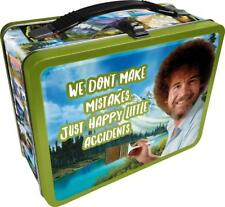 """Bob Ross """"Happy Accidents"""" Collectible Tin Lunchbox"""