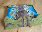 River Ford for Warhammer Lord of the Rings Miniature Diorama Scene