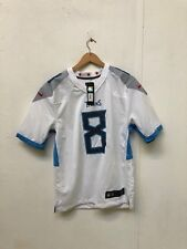 Tennessee Titans Nike NFL Men's 2018 Game Jersey - S - Mariota 8 - White - New