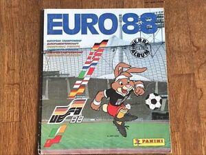 Album figurine PANINI WC EURO 88 COMPLETE stickers wm world cup europa em 80 84