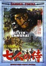 Seven Samurai (Remastered Uncut Edition) Rare Kung Fu Dvd ~ New