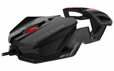 Mad Catz Rat1 Wired Optical Gaming Mouse - Black Rat 1