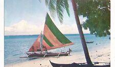 POSTCARD  ADVERTISING  CALTEX  MORO  VINTA    Philippines