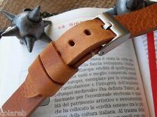 Cinturino cuoio vintage ColaReb SIENA color cuoio 20mm watch band strap bracelet