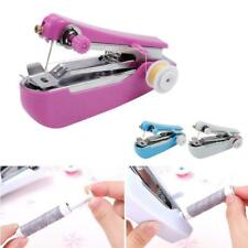 Random Color Mini Portable Cordless Hand-held Clothes Sewing Machine Stitch JG