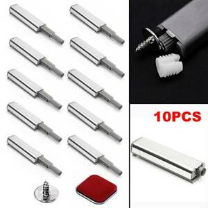 10Pcs Cabinet Latch Door Cupboard Push To Open System Damper Buffer Catch New