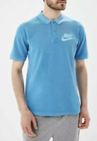 Nike Sportswear Matchup Washed Polo Mens Size XL Blue New NWT C208