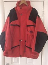 Mens Red / Black TENSON MPC FUNCTION Jacket EU Size 48  *WOW* Water/wind Proof