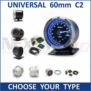 NEW DEFI C2 STYLE 60mm Gauges, Boost, AFR, Oil, Vacuum, EGT, Water; A1 BF CR ZD