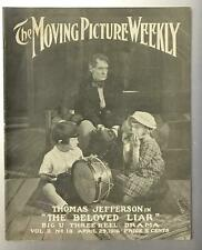The Moving Picture Weekly Magazine Silent Film Star April 1916 Laemmle Universal
