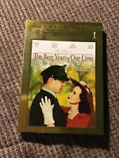 The Best Years of Our Lives w/ Oscar Slipcover (Dvd) Oop New Fredric March