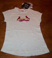 WOMEN'S TEEN JRS ST. LOUIS CARDINALS MLB BASEBALL #30 T-shirt SMALL NEW w/ TAG