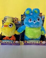 Toys story 4 signature collection talking carnival plush Bunny + Ducky New