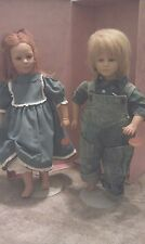 American Heartland Collectible Dolls by Annette Himstedt (Toni 5202 & Timi 5194)