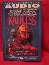 STAR TREK  The Next Generation KAHLESS  audio book casette Friedman