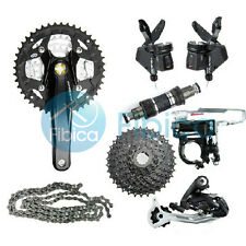 New Shimano Alivio M430 3x9 Speed Groupset Group Mountain 27-speed 7pcs
