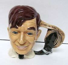 Byron Molds Will Rogers Collectible Cup Mug I Never Met A Man I Didn'T Like '76