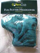 Wholesale Job Lot 100 Classic Blade Golf Putter Head Covers Bottle Green Fur New