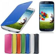 Samsung Galaxy S4 IV I9500 Battery Flip Case, S-View Cover + Screen Protector