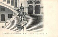 Château de PIERREFONDS - Statue de Louis d'Orléans