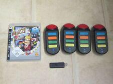 Buzz Deutschlands Superquiz inkl. 4 Wireless Buzzer für Playstation 3 PS 3 *OVP*