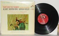 Al Hirt Arthur Fiedler Pops Goes The Trumpet LP 1964 RCA Victor LSC 2729 Vinyl