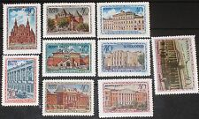 RUSSIA SOWJETUNION 1950 1450-58 1449-57 Moscow Museums Moskauer Museen MNH