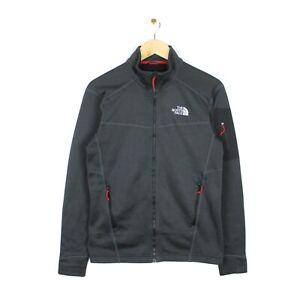 The North Face Mens Polartec Grey Full Zip Hiking Walking Fleece Jacket - Size S