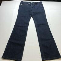 Ann Taylor Modern Fit Boot Cut Dark Wash Jeans Size 8 A259