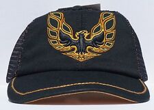 New Firebird Emblem Black Hat Adjustable Relaxed Fit Officially Licensed GM Cap