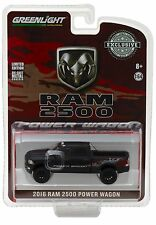 1:64 GreenLight *HOBBY EXCLUSIVE* FLAT BLACK = 2016 Dodge Ram 2500 POWER WAGON