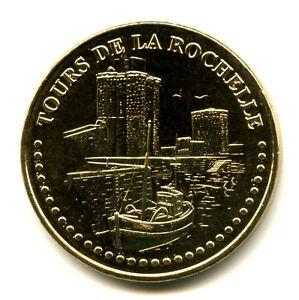 17 LA ROCHELLE Les tours 2, 2021, Monnaie de Paris