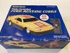 Vintage Radio Shack Ford Mustang Cobra Yellow Car Radio Controlled Cat # 60-3078