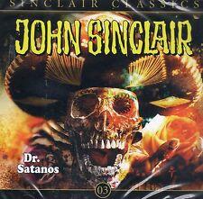 JOHN SINCLAIR CLASSICS TEIL 3 - Dr. Satanos - AUDIO CD - NEU OVP