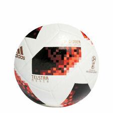 adidas Telstar Mechta FIFA World Cup 2018 Knockout Top Glider Palla - Bianco/Rosso Solare/Nero (CW4684)
