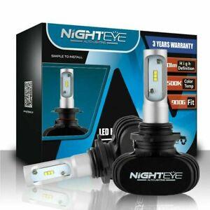 Nighteye 9006 HB4 50W 8000LM LED Headlight Kit Fog Lamp Bulbs White Xenon 6500K