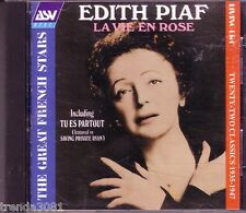 EDITH PIAF La Vie En Rose LIVING ERA ORIGINAL MONO Recordings 1935-1947 CD Great