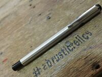 old Vintage 1985 TC Stainless Steel LION HEAD PARKER ROLLERBALL Pen USA