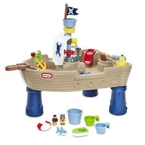 Little Tikes Treasure Trove Water Table and Role Play Pirate Ship