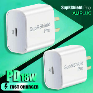 18W PD Fast Charging Wall Plug Charger Adapter For Apple iPhone 12 Pro Max Mini
