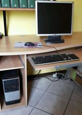 PC fisso Desktop Acer AMD dual core Windows 7 compl. di monitor tastiera e mouse