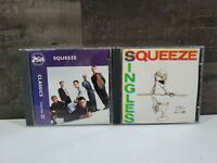 Squeeze 2 cd lot 25th anniversary classic volume 25 and 45's and under
