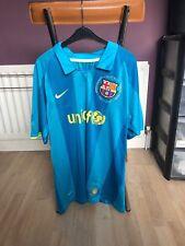 "Barcelona Nike Football Shirt #10 Ronaldinho Size 44"""