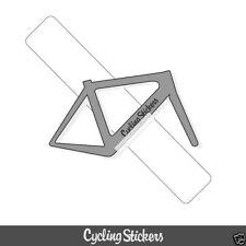 Adesivi e decalcomanie trasparente per biciclette
