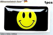 1pcs Hot Auto Car Smiled Label Logo Abzeichen Styling Sticker Universal 1A-Qualy