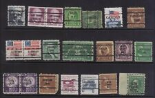 stamps USA   precancel  3