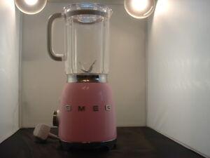 Smeg BLF01PKUK 50's Retro Pink Table Top Blender, Unused/Box Damaged